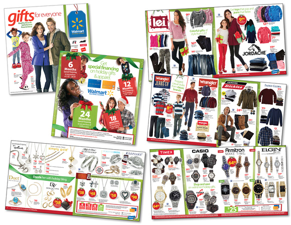 Walmart Dec Holiday Apparel Gift Guide