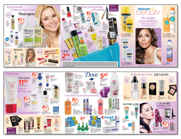 Walmart May Beauty Catalog